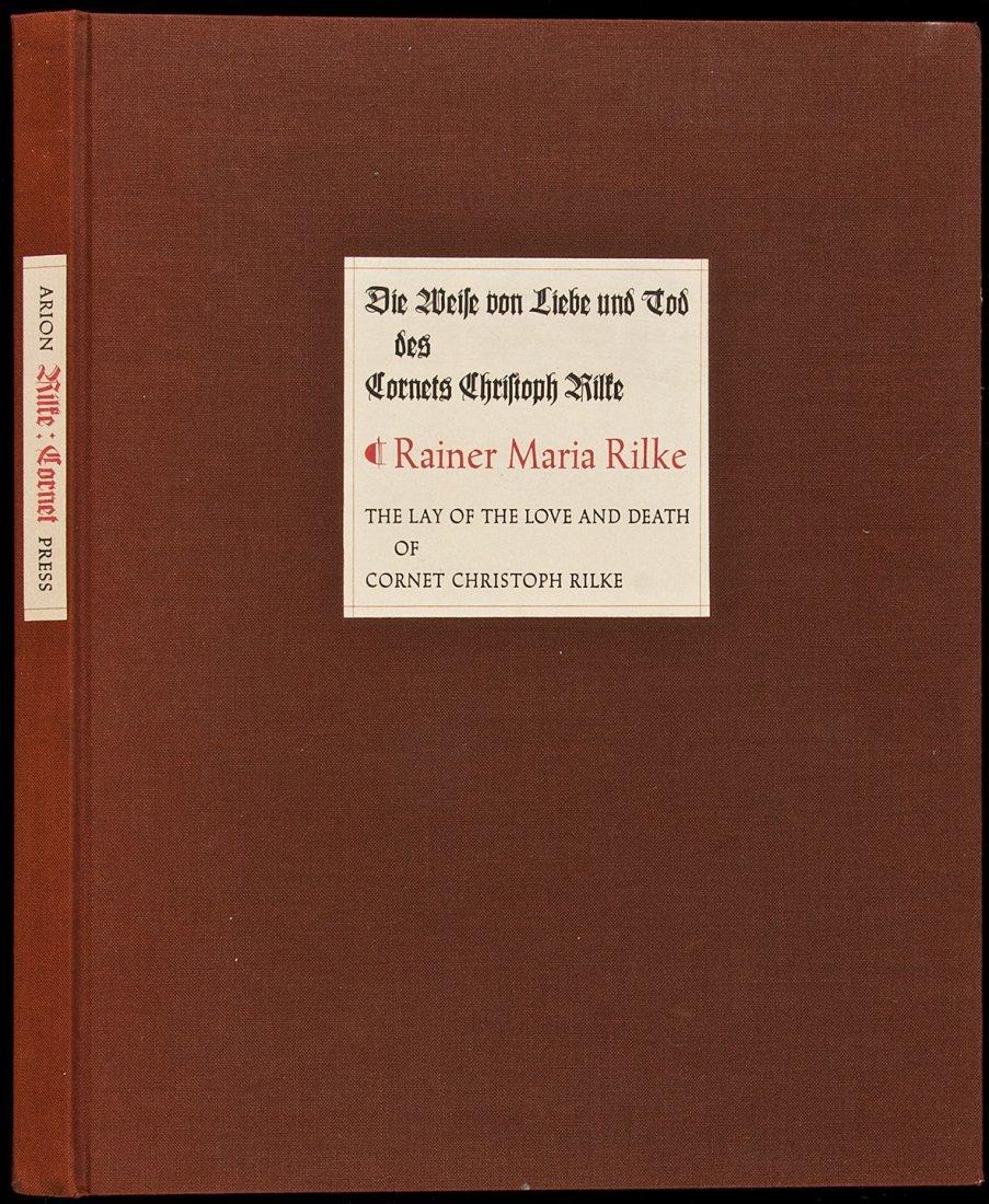 23: Arion Press Rainer Maria Rilke 1 of 315 copies