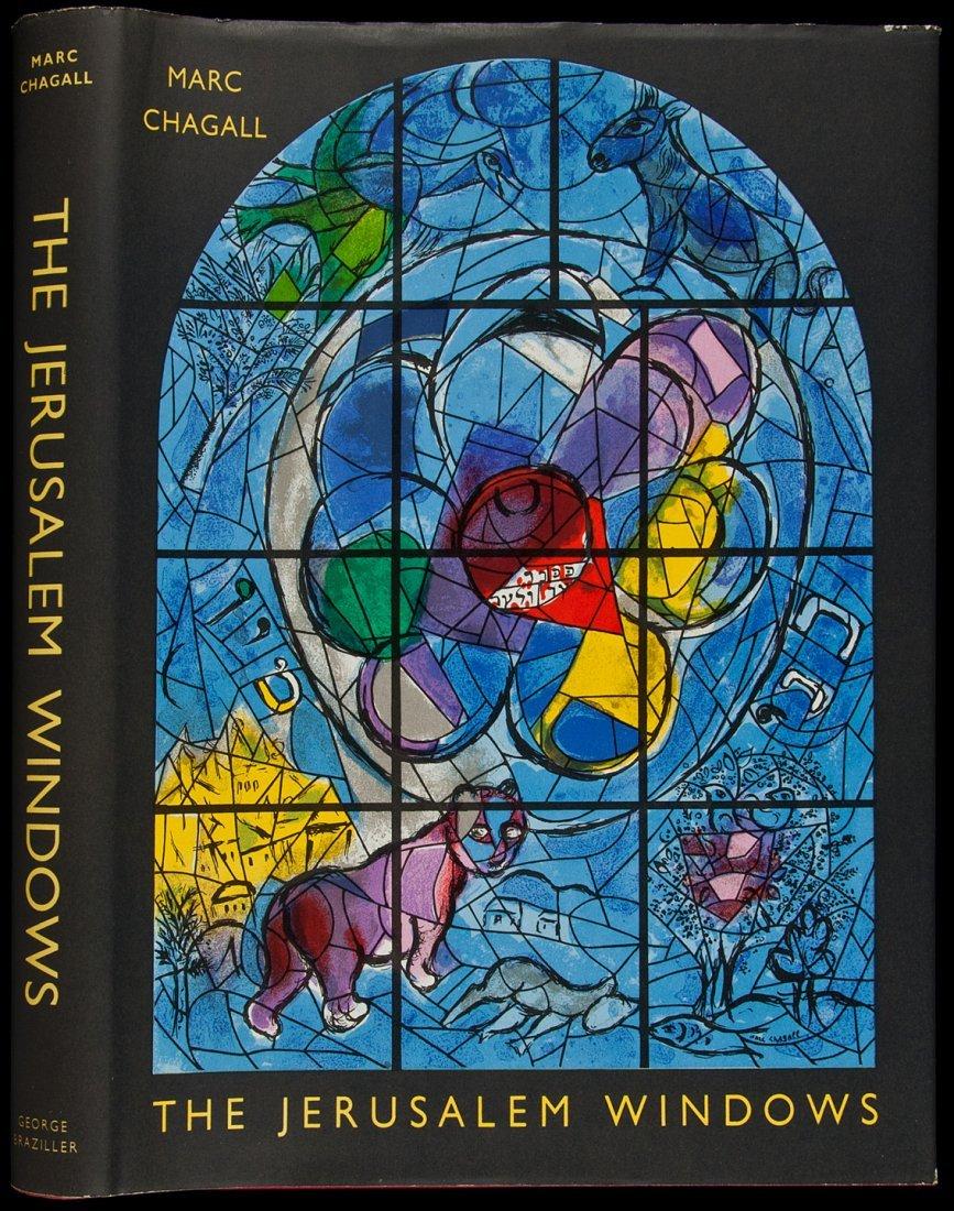153: Marc Chagall Jerusalem Windows 2 Original Lithos