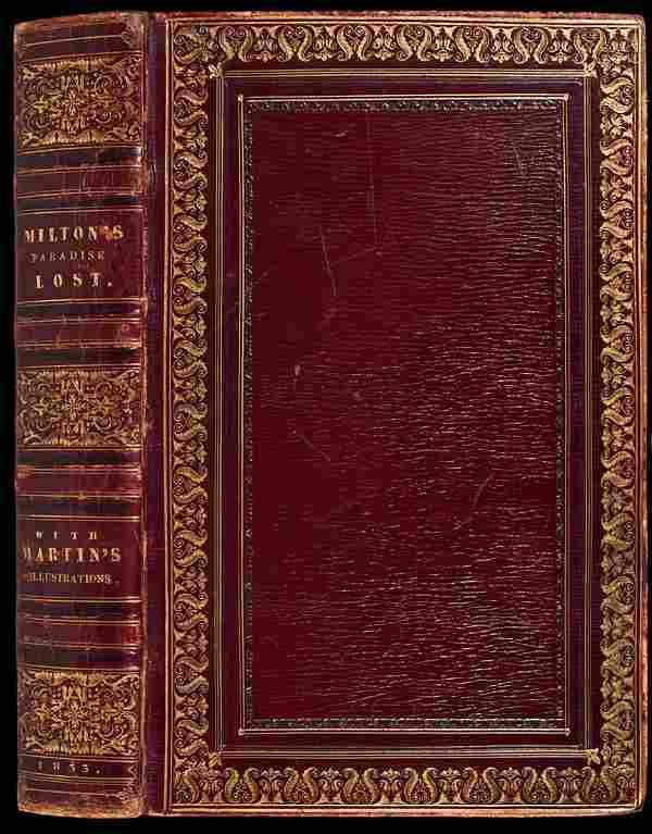 Paradise Lost with John Martin Illustrations 1833