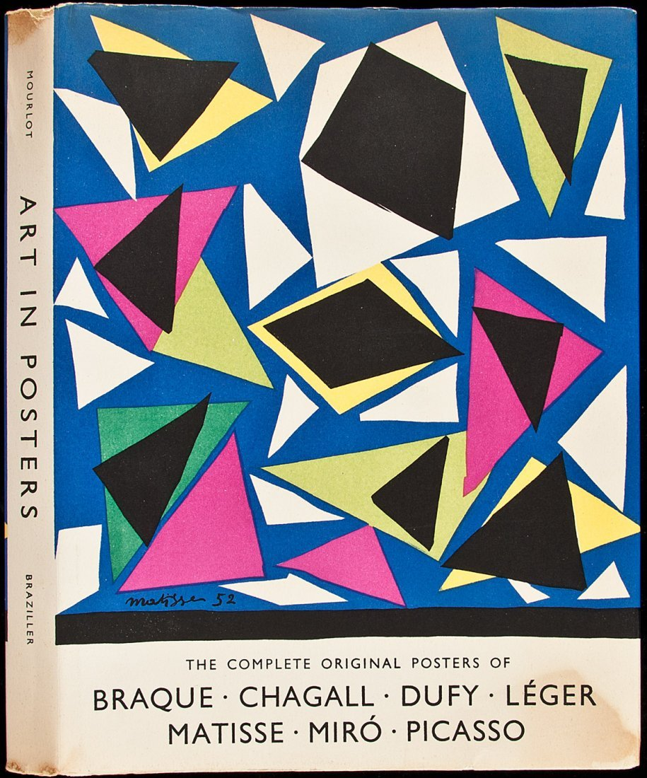 215: Posters of Matisse, Miro, Picasso & others