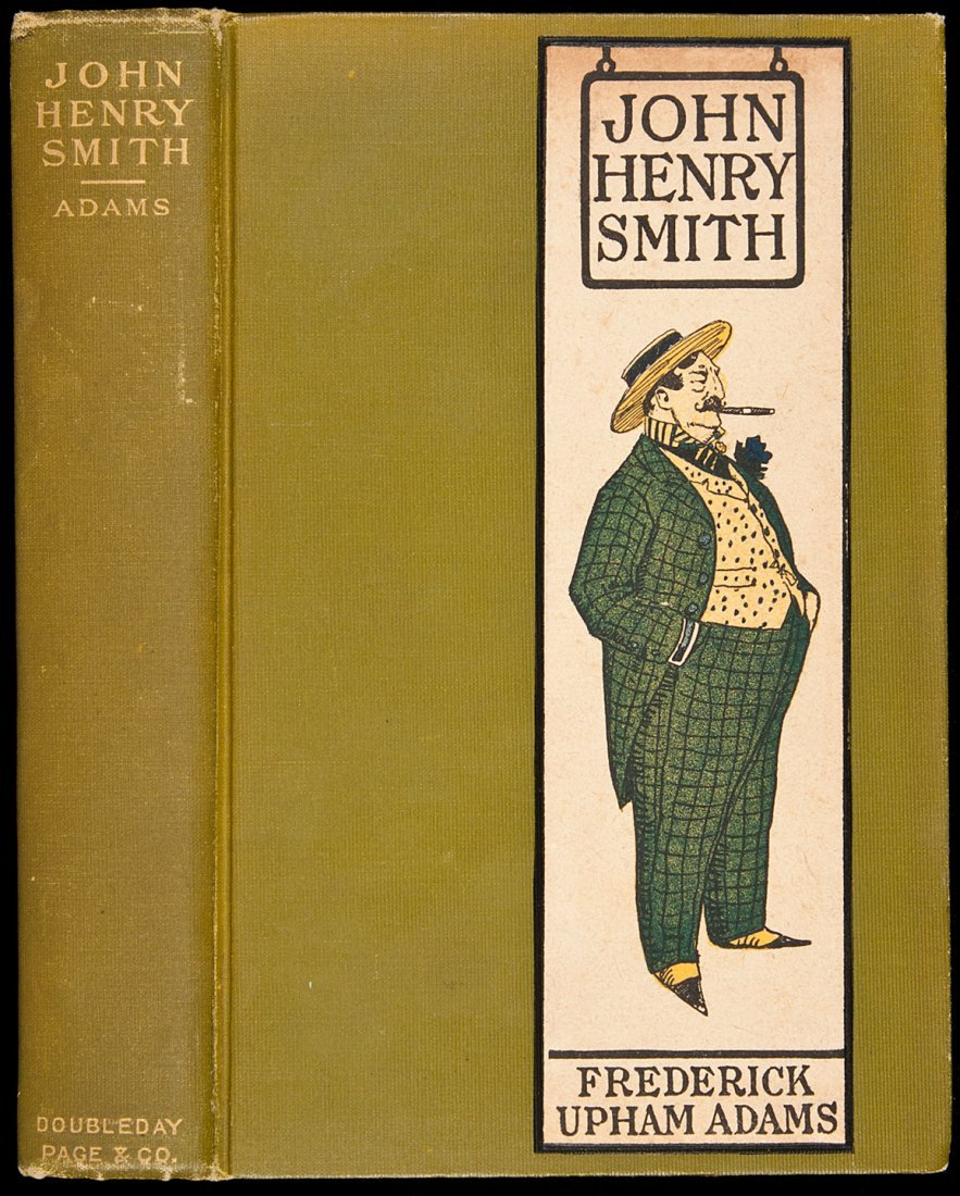 3: John Henry Smith signed by author F.U. Adams