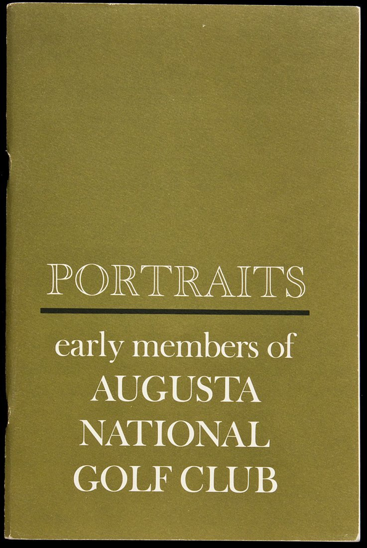 13: Portraits: Early Members of Augusta National Golf