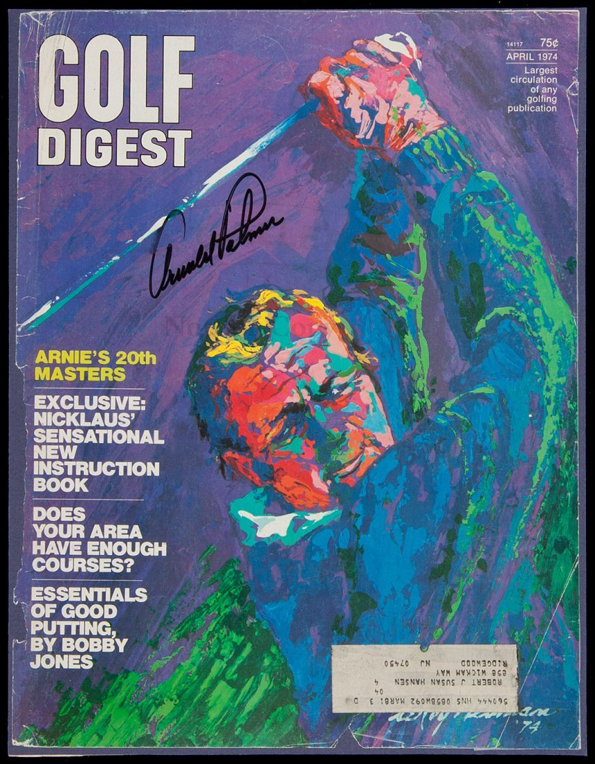 20: 18 golf magazine covers, signed by golfers