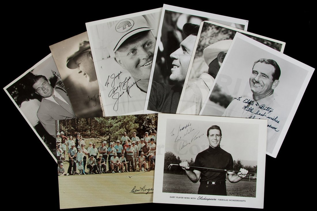 21: Eight signed photographs