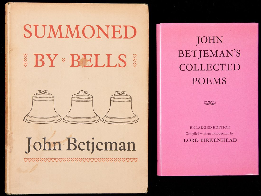 4: Two works by John Betjeman, both signed