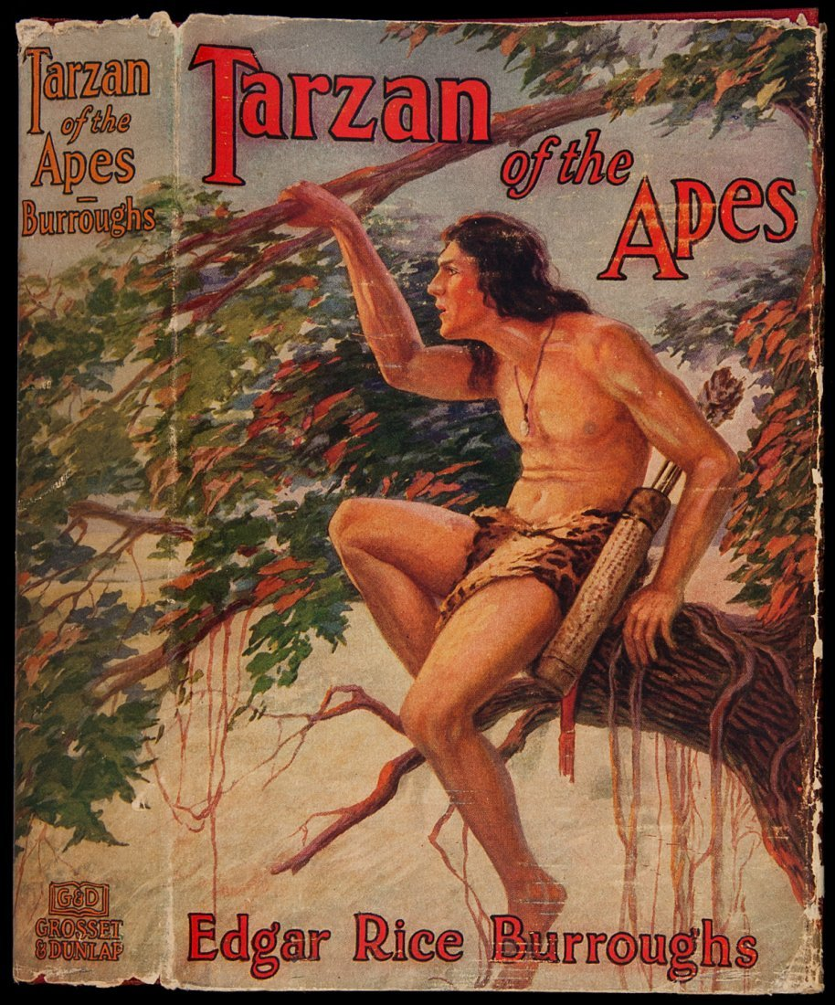 6: Tarzan of the Apes G&D reprint with dust jacket