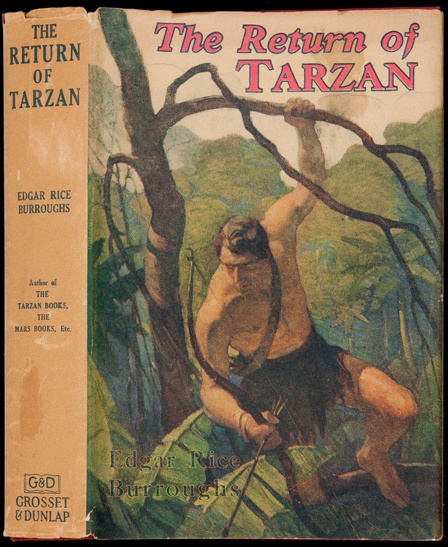 7: The Return of Tarzan G&D Reprint with dust jacket