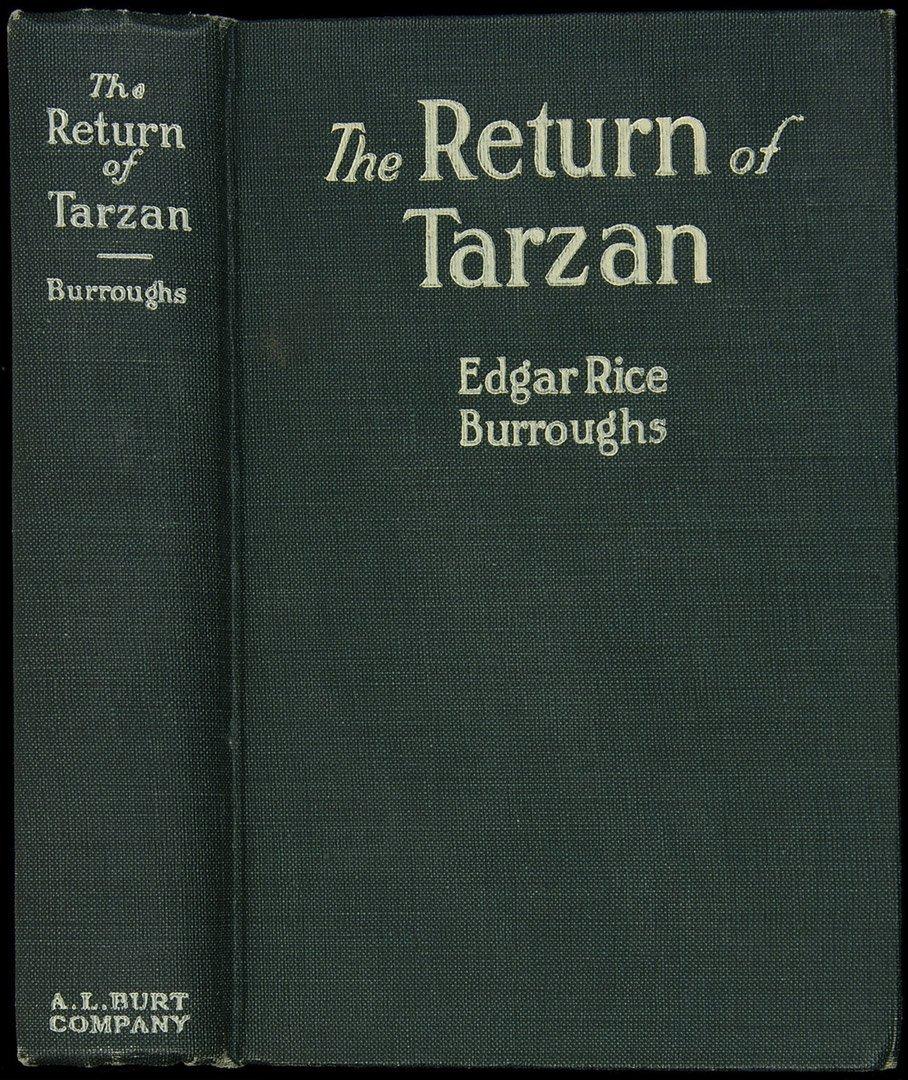8: Edgar Rice Burroughs The Return of Tarzan