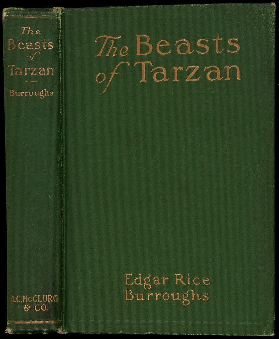 9: Edgar Rice Burroughs The Beasts of Tarzan