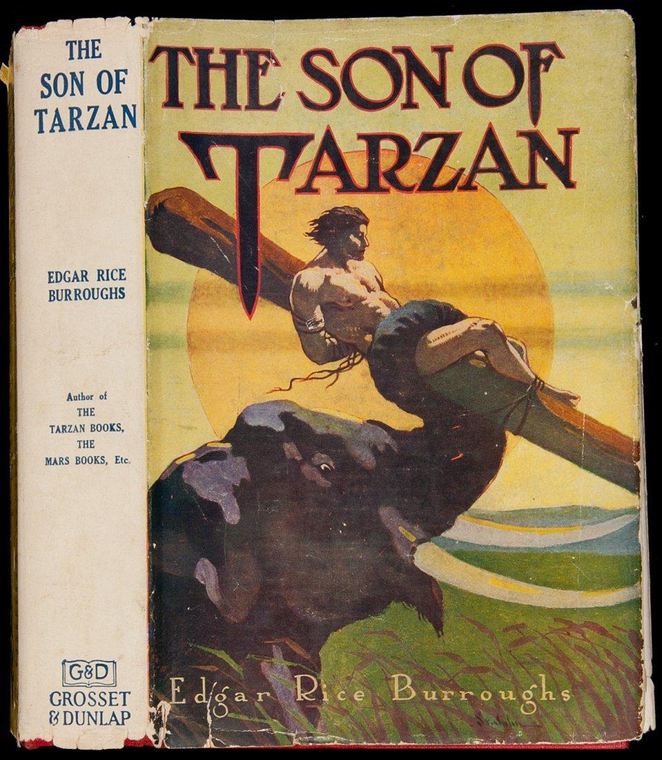 10: Edgar Rice Burroughs The Son of Tarzan