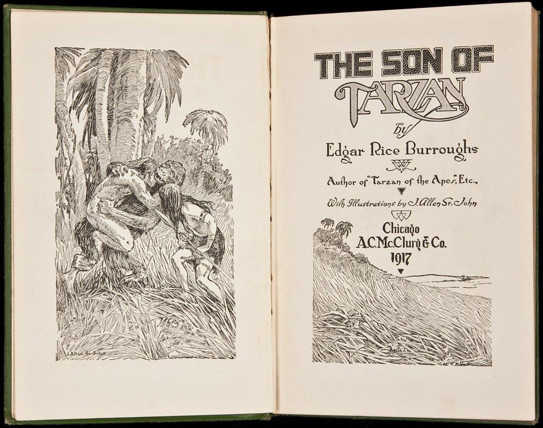 11: Edgar Rice Burroughs The Son of Tarzan