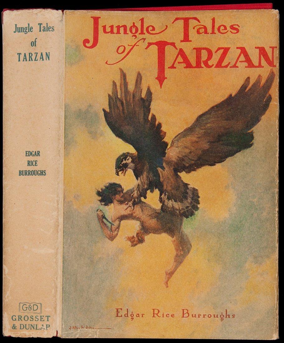 12: Edgar Rice Burroughs Jungle Tales of Tarzan
