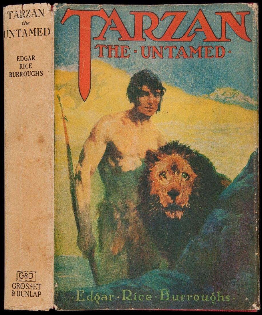 13: Edgar Rice Burroughs Tarzan the Untamed
