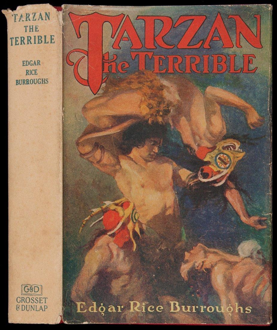 15: Edgar Rice Burroughs Tarzan the Terrible