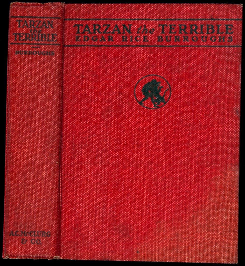 16: Edgar Rice Burroughs Tarzan the Terrible