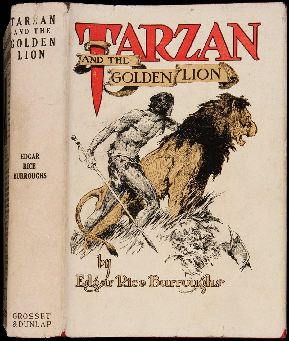 17: Edgar Rice Burroughs Tarzan and the Golden Lion
