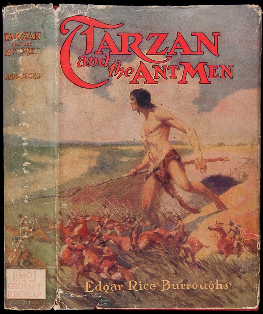 18: Edgar Rice Burroughs Tarzan and the Ant Men