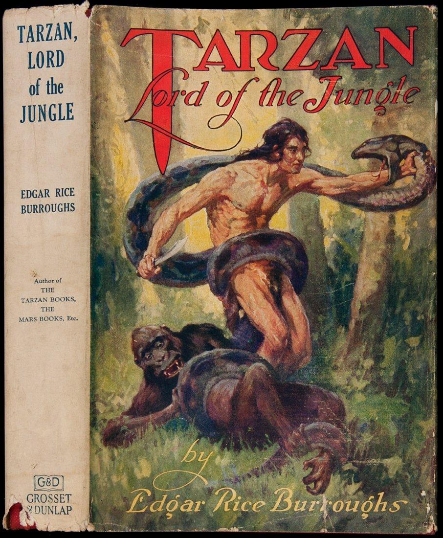 20: Edgar Rice Burroughs Tarzan Lord of the Jungle