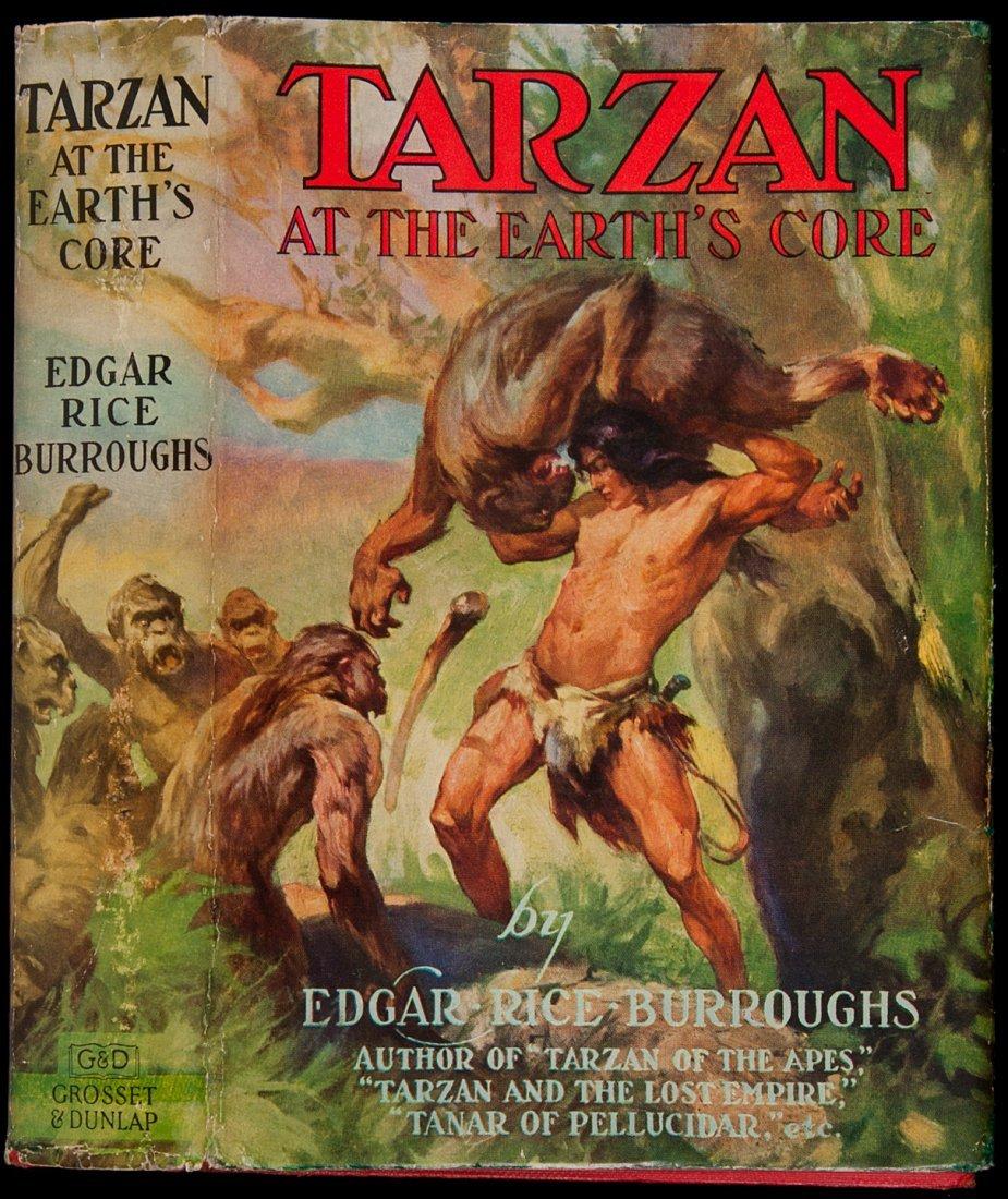 21: Edgar Rice Burroughs Tarzan at the Earth's Core