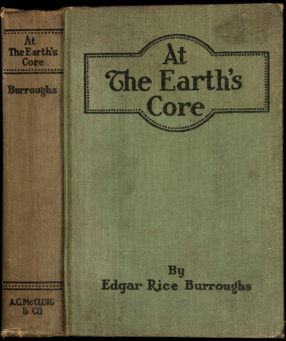 22: Edgar Rice Burroughs At the Earth's Core