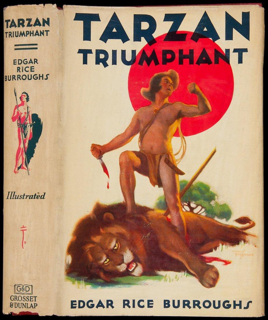 23: Edgar Rice Burroughs Tarzan Triumphant