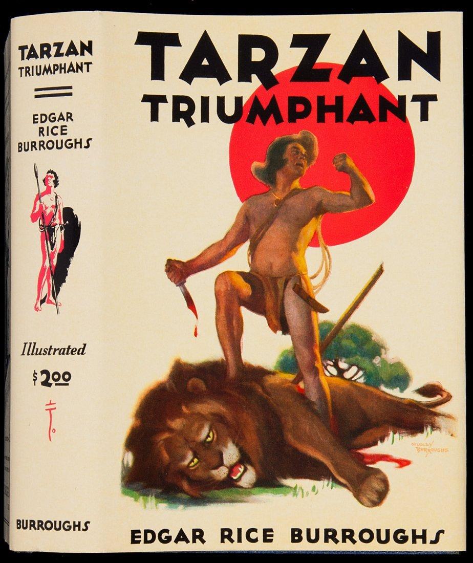 24: Edgar Rice Burroughs Tarzan Triumphant