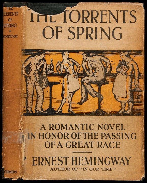 112: Hemingway's Torrents of Spring 1st edition w/dj