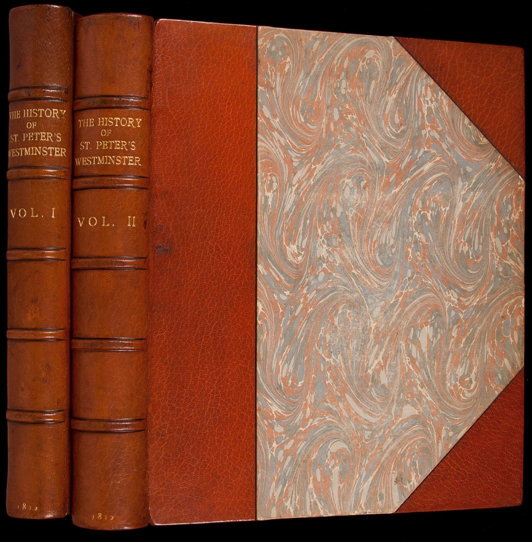 2: History of Westminster Abbey 1812 Ackermann