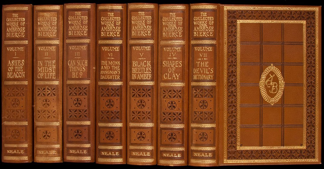 16: Collected Works of Ambrose Bierce Finely Bound