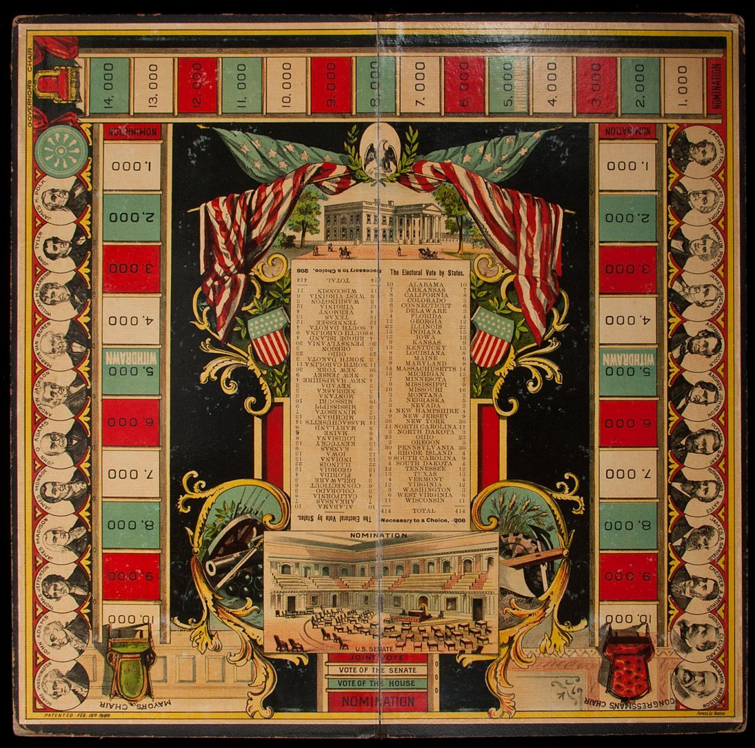 18: 1888 Presidential Election Board Game