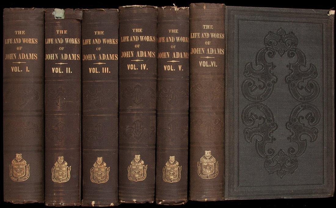 5: The Works of John Adams 10 volumes 1856