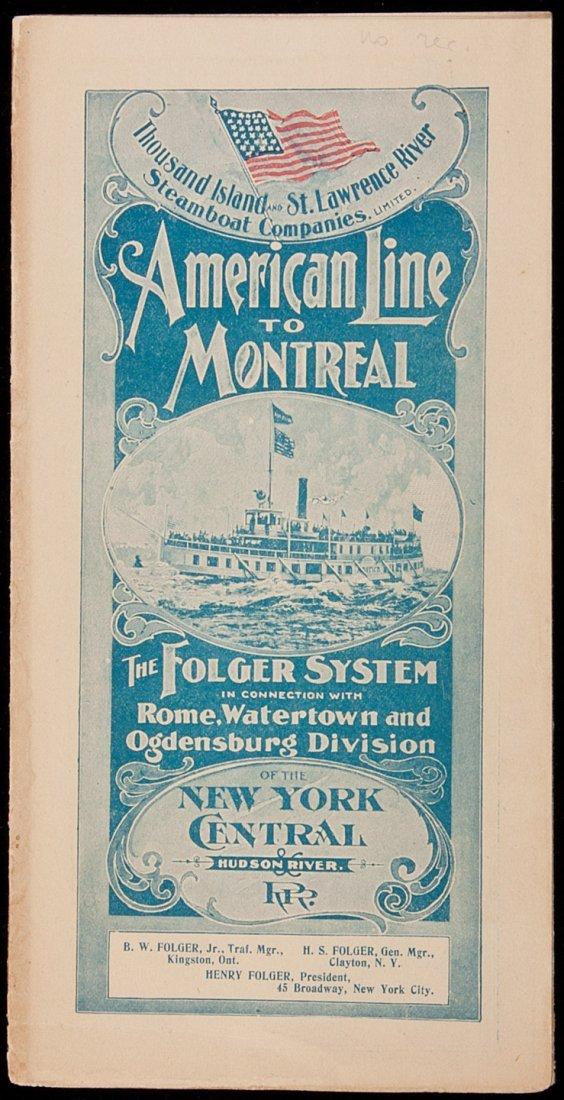 8: 1898 brochur NY & Hudson River RR line 2 Montreal