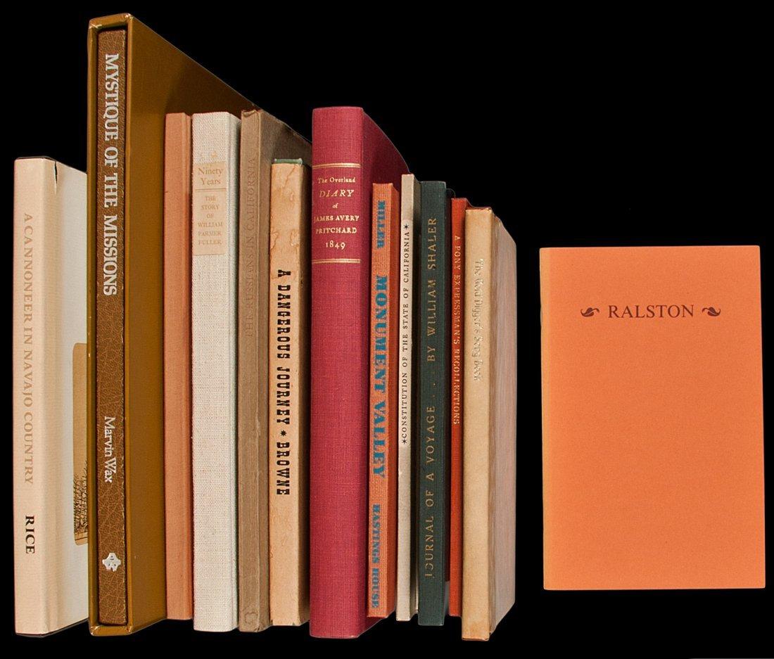 10: 14 vols Americana from various fine presses