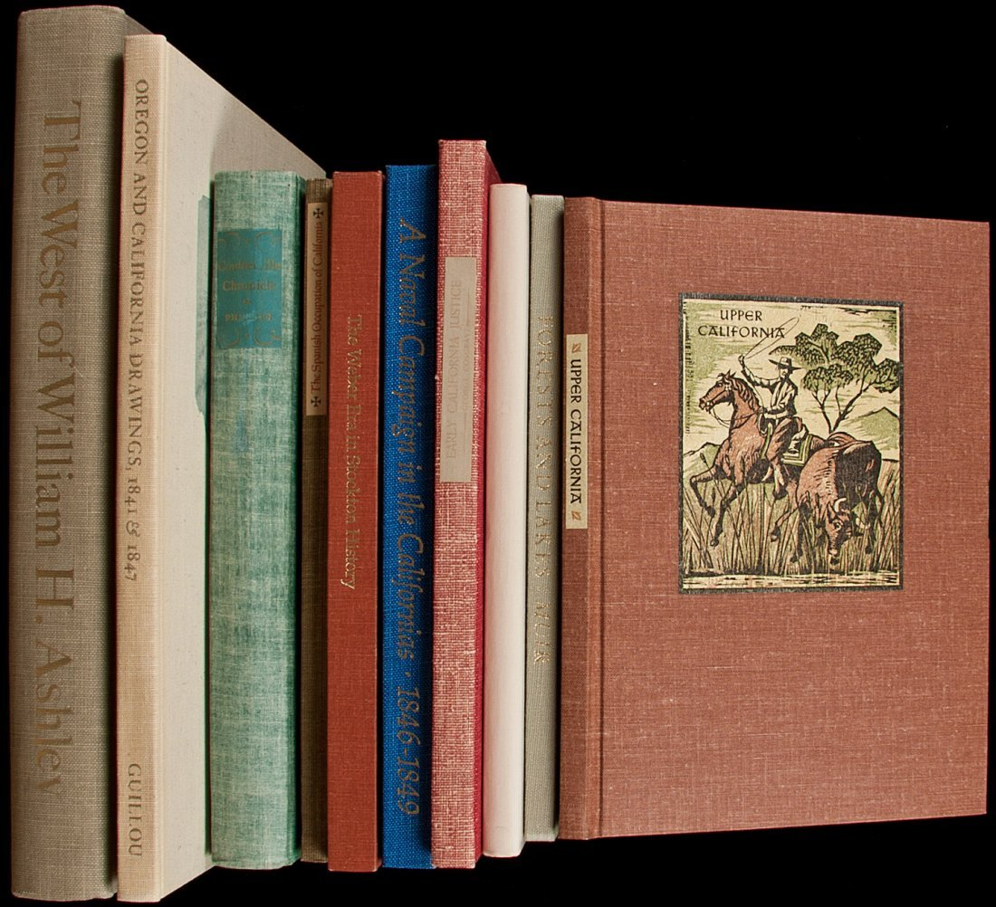 11: 10 vols of Americana from various fine presses