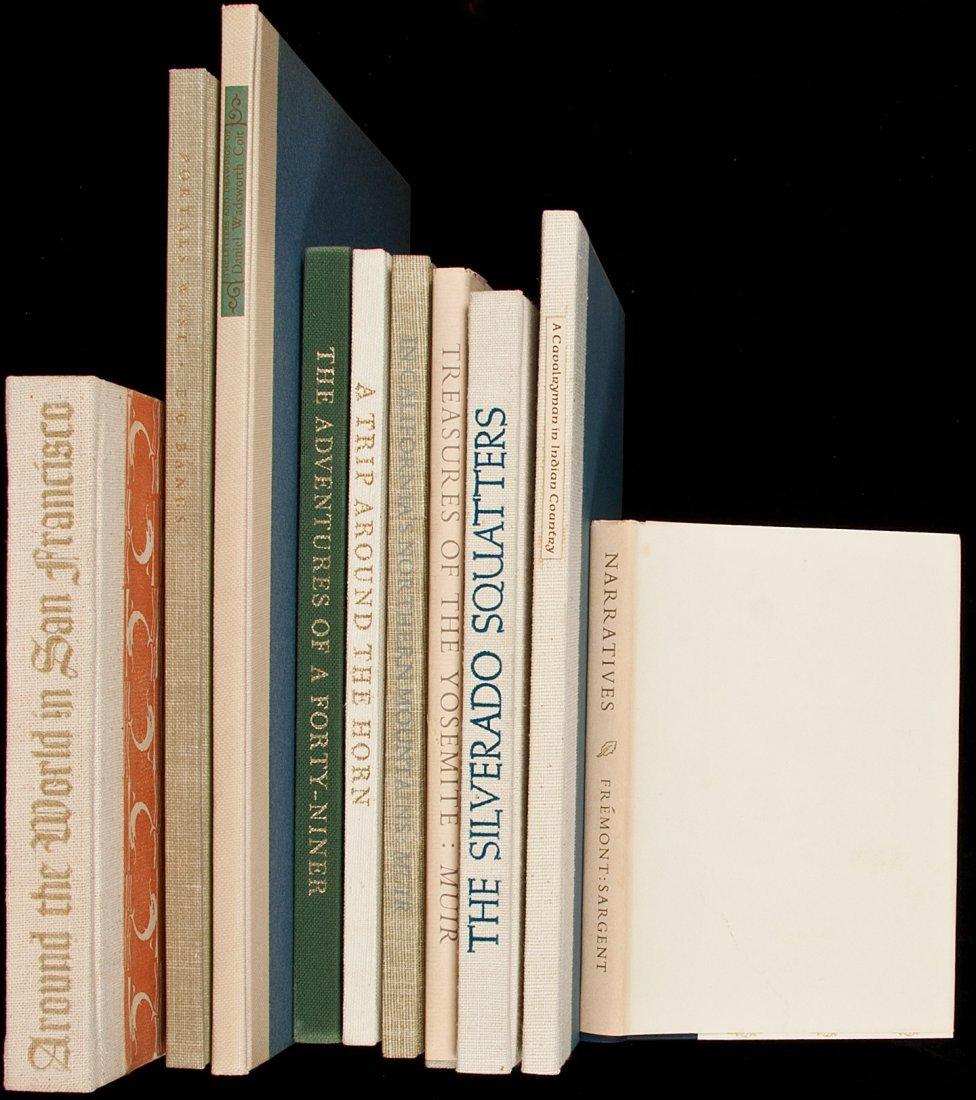 13: 10 vols of Americana from fine presses