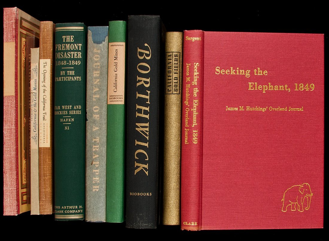 15: 10 vols Americana from various fine presses