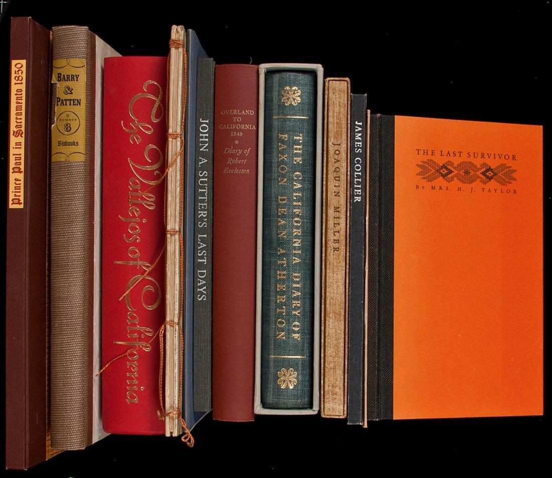 17: 12 vols of Americana from fine presses