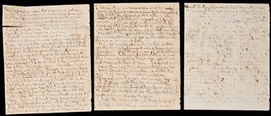 386: ALs from Kentucky ex-slave, missionary 1845