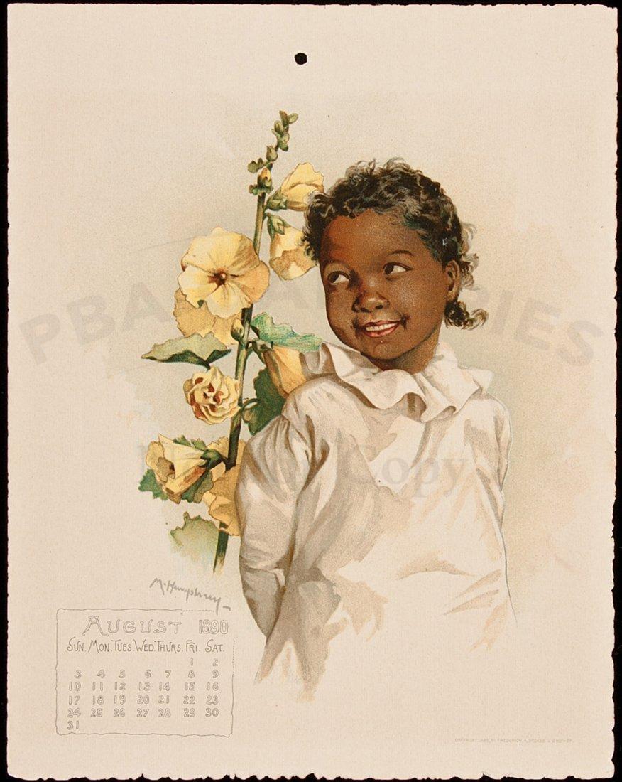 422: art by Humphrey Bogart's mother Maud 1890