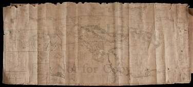 582: Chart of the Gulf of Mexico, West Indies 1845