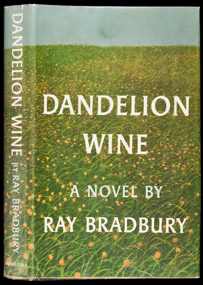9: Ray Bradbury Dandelion Wine First Edition