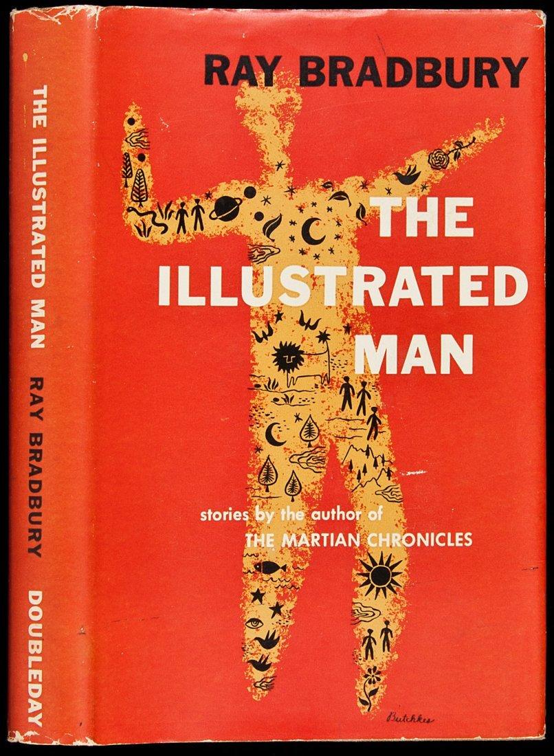 10: Bradbury's Illustrated Man  1st ed w/dj