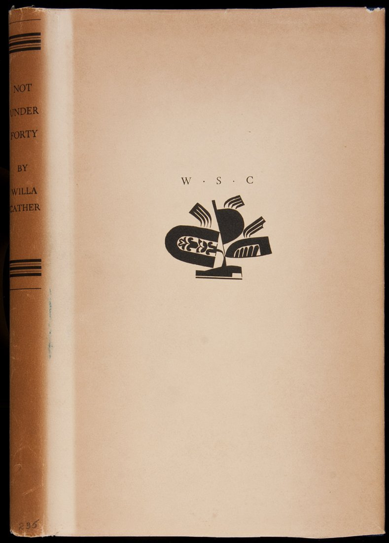 18: Willa Cather Not Under Forty Limited Edition