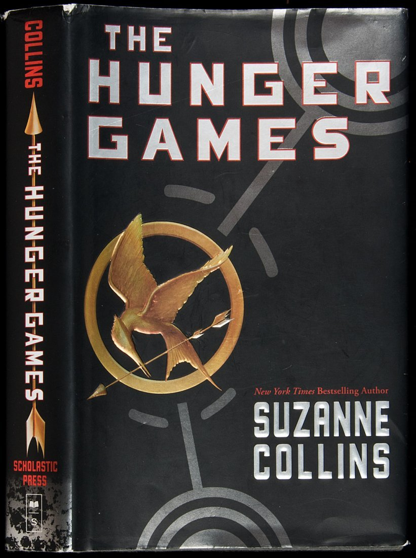 21: First edition of Hunger Games by Collins