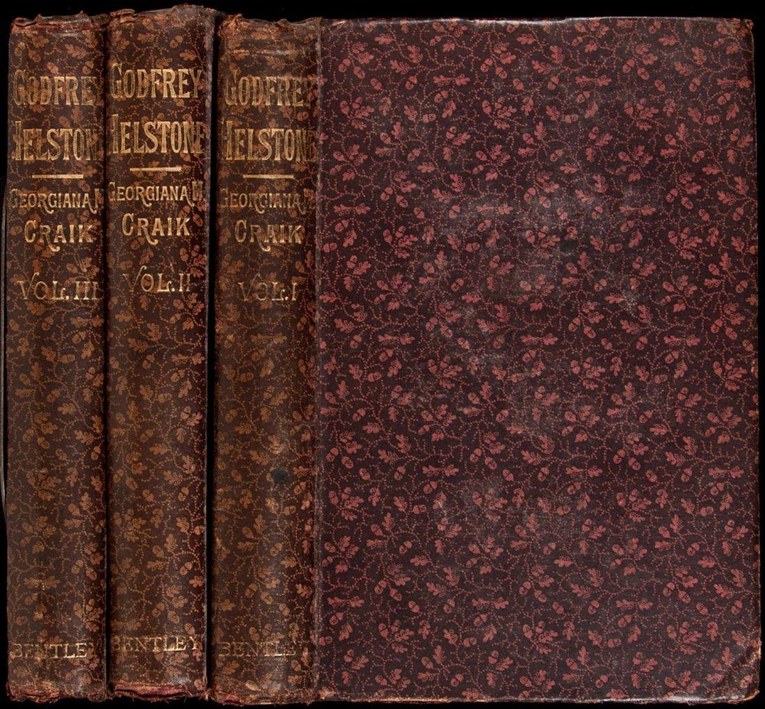 22: Godfrey Helstone: A Novel 1884 1st ed