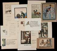 238 Large collection of Cuala Press prints broadsides