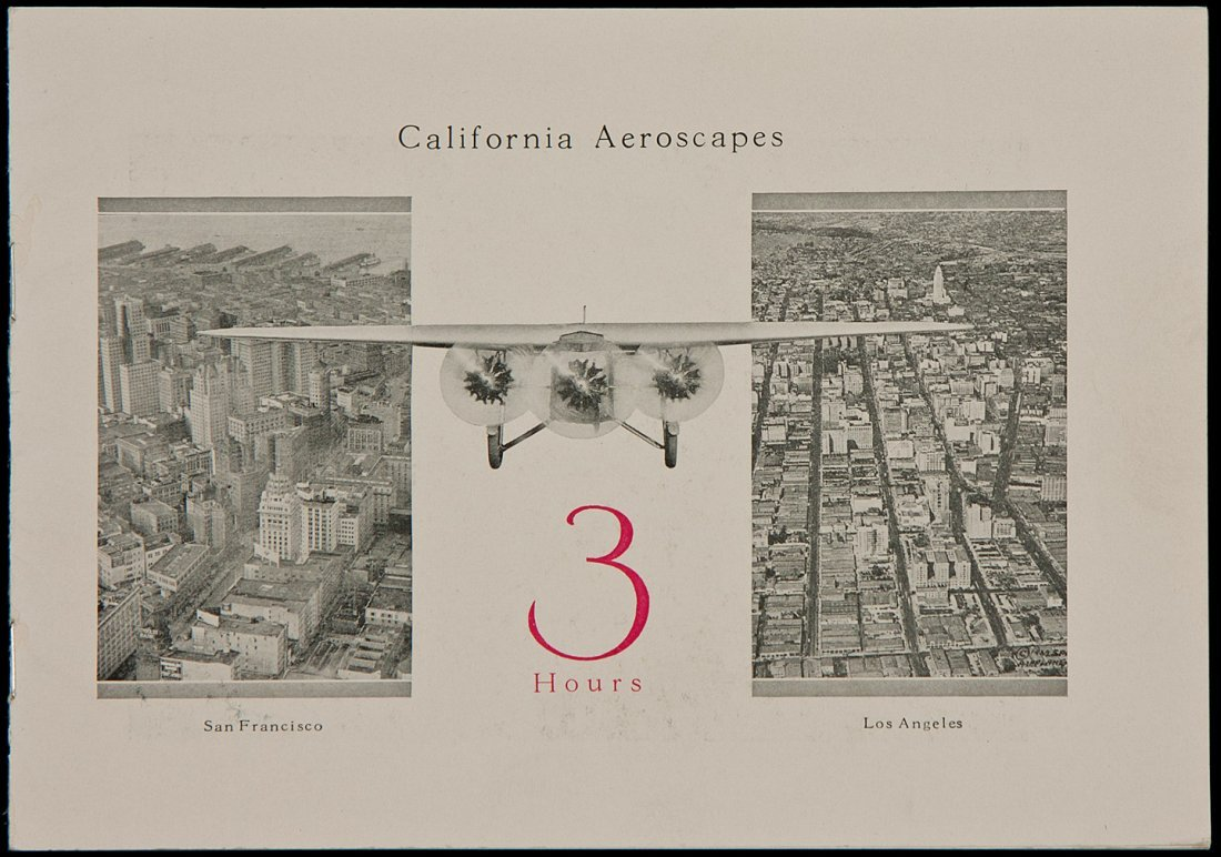 1: California Aeroscapes booklet