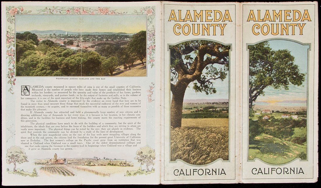10: Alameda County illustrated brochure 1914