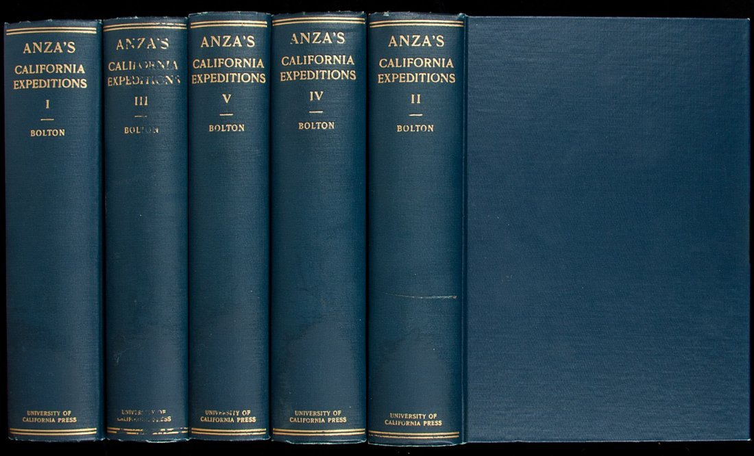 19: Anza's California Expeditions 1930