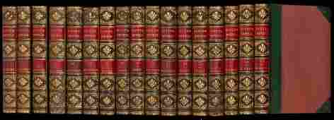 90: Sir Walter Scott's Waverley Novels 48 volumes